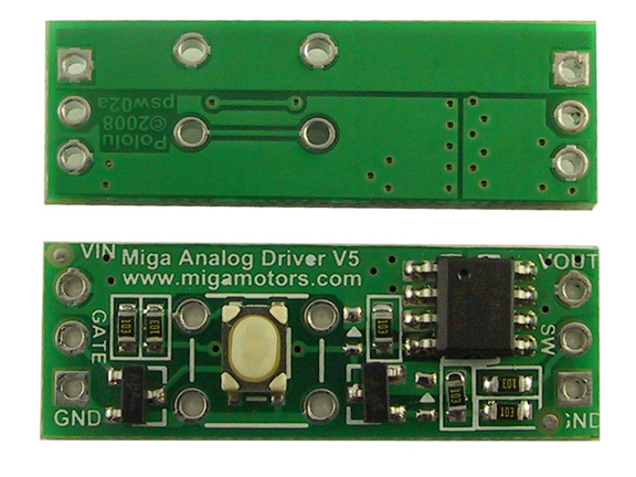 Miga Analog Driver V5 - MOSFET Switch